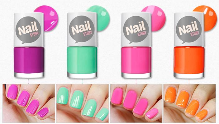 Peripera nail story summer 2014 polishes