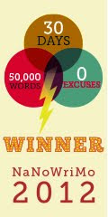 NaNoWriMo 2012 Winner.