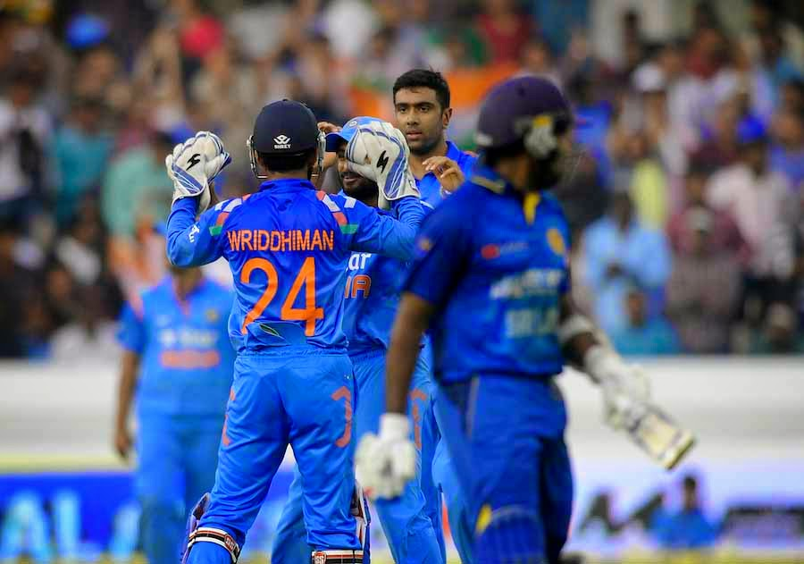 India beat Sri Lanka to clinch series