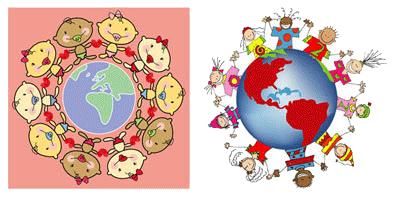 Children around the world to print