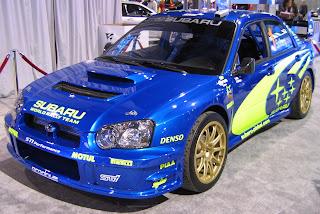 Subaru Impreza Sedan WRX 3453543