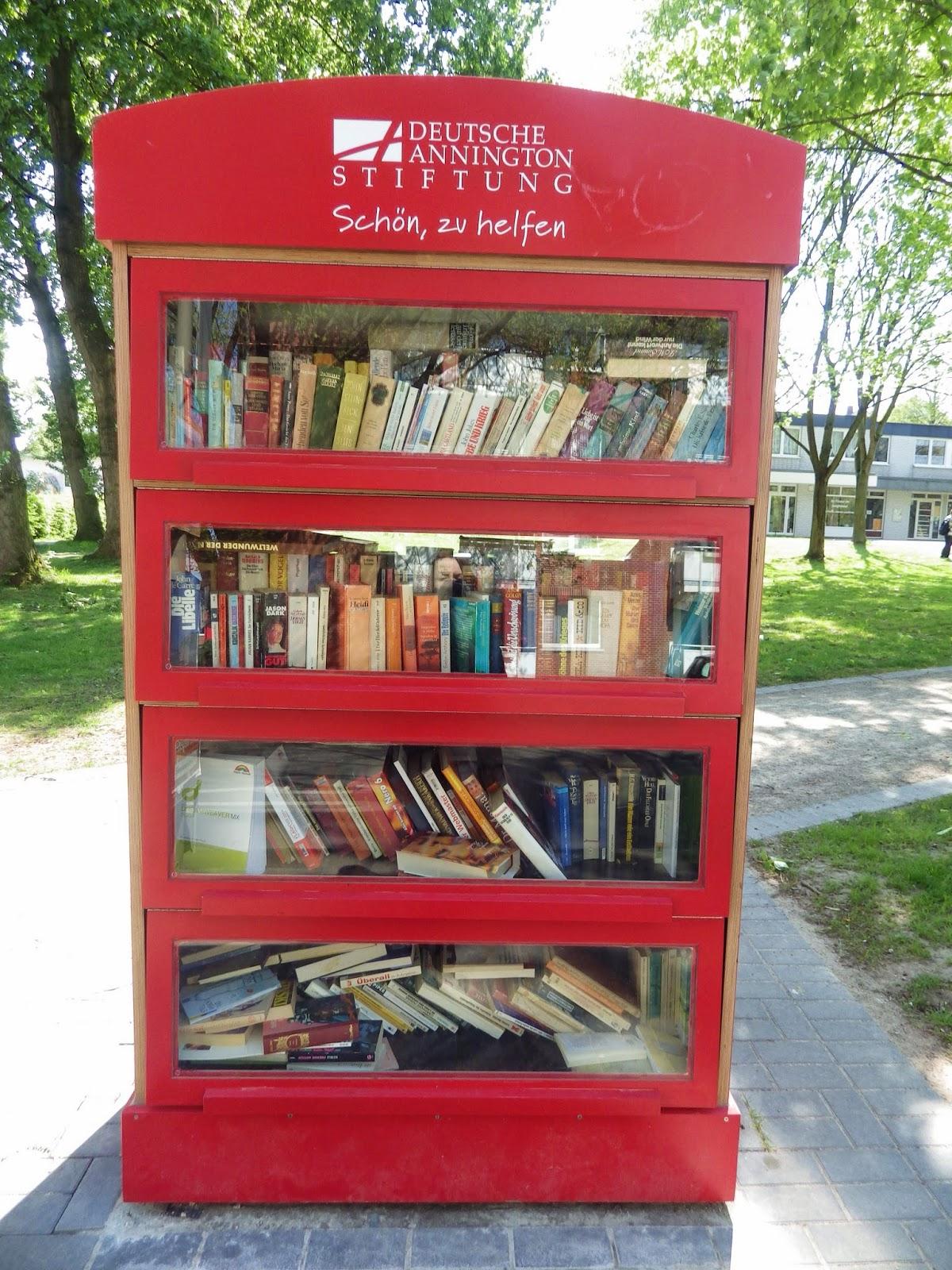 Jacky´s House: Welttag des Buches: Offene Bücherschränke ...
