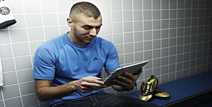 Karim Benzema crée sa propre chaussure Adidas