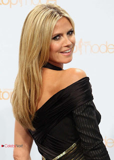 Heidi Klum Pictures in Cutout Dress at at Germany�s Next Top Model Picturecall  0003