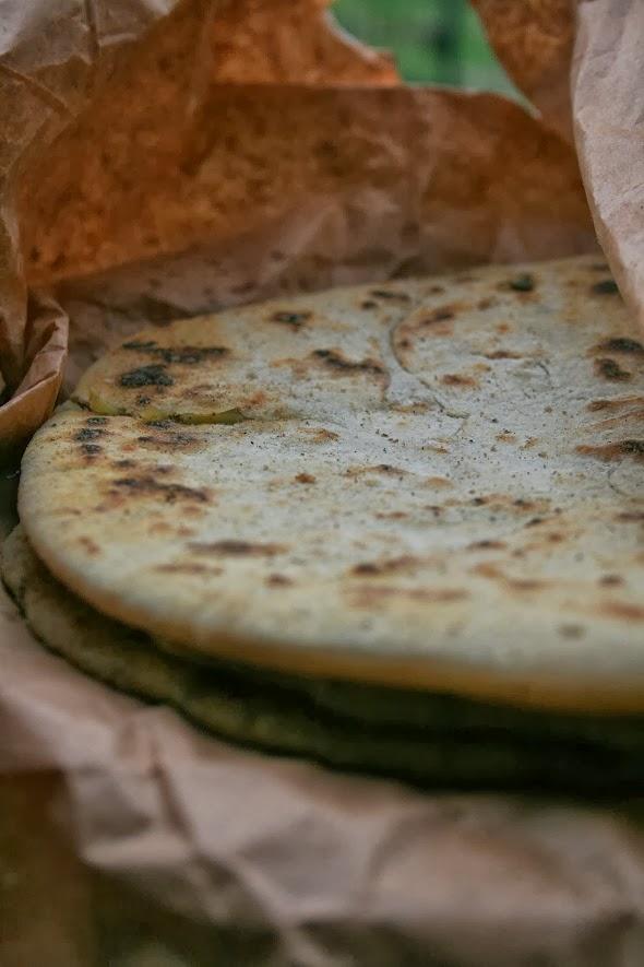 paratha, ovvero pane indiano farcito
