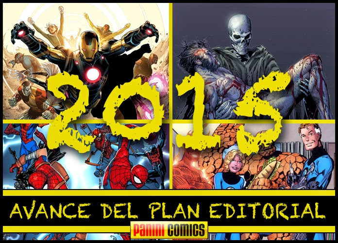 Avance editorial Panini Cómics 2015