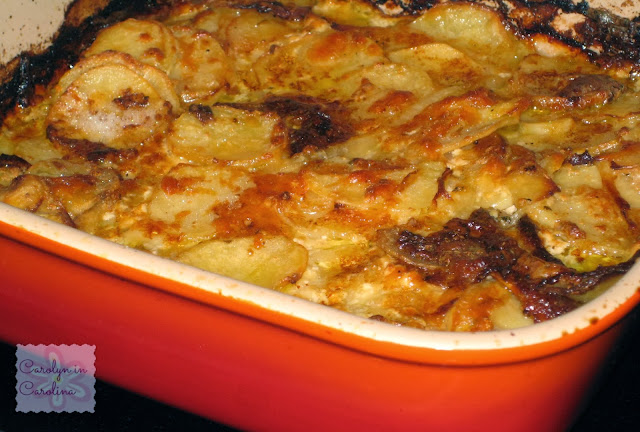 Carolyn in Carolina: Onion Potato Gratin