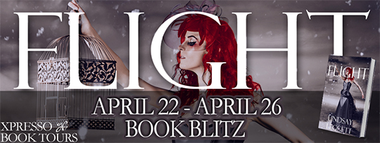 BLITZ and EXCERPT: Flight by Lindsay Leggett