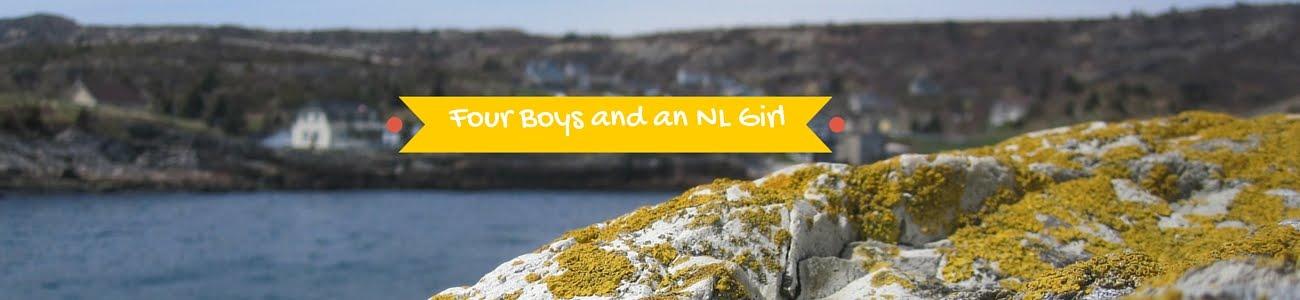 Four Boys and a NL Girl