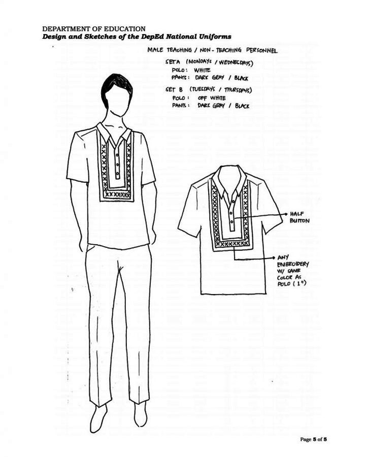 DepEd Uniform for Teaching and Non Teaching Staff 06-08-2016 01