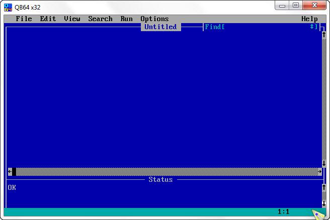 Operasi File pada Bahasa BASIC (QBASIC)