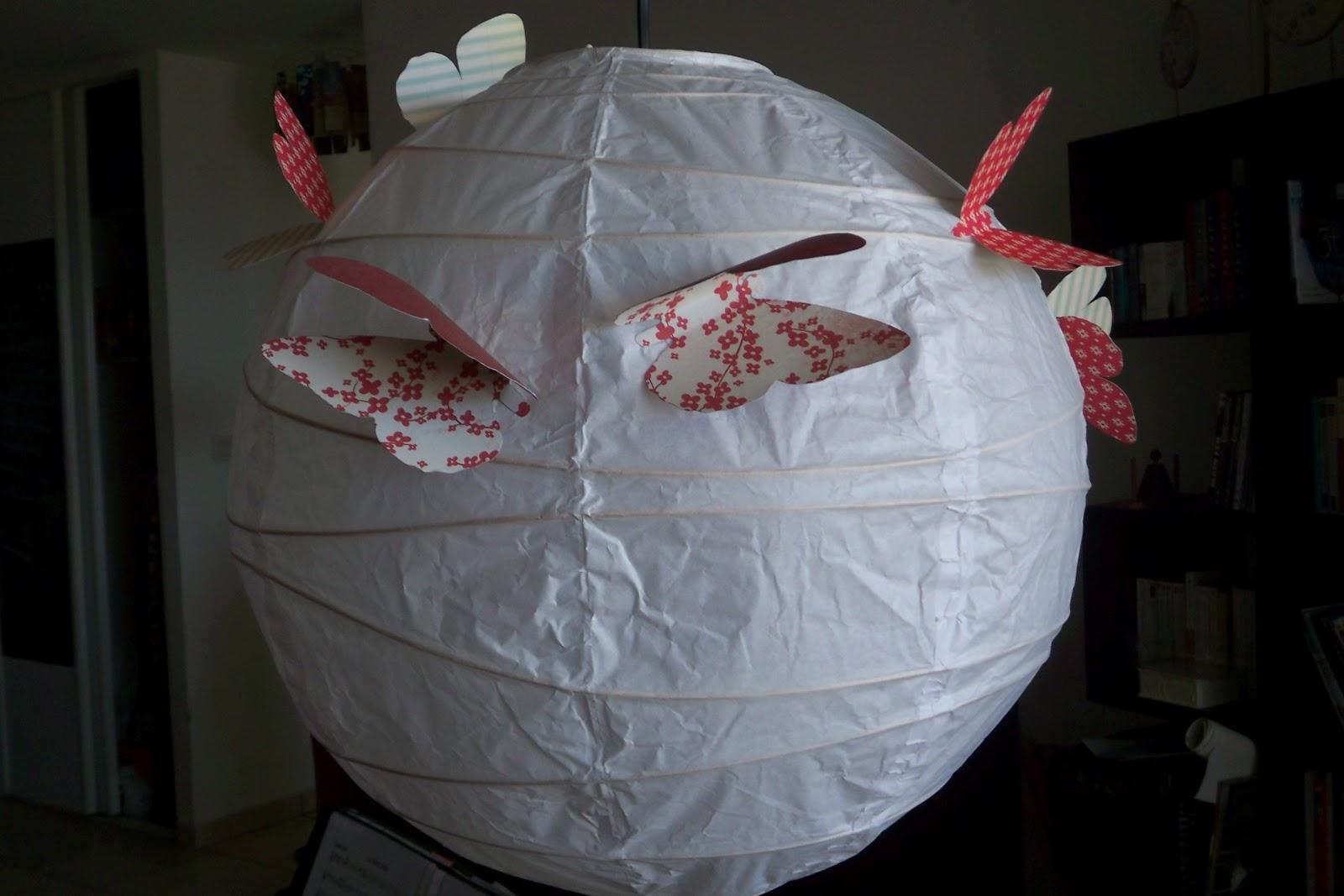 zetwal katrer un abat jour boule en papier de riz customis 233