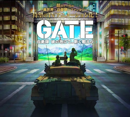 [ Info-Anime ] Light Novel Gate Jieitai Kanochi Nite Kaku Tatakaeri Dapatkan Adaptasi Anime