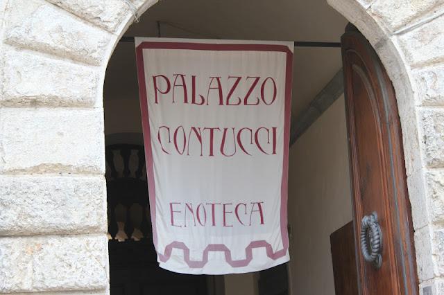 Palazzo Contucci, Montepulciano, Italy