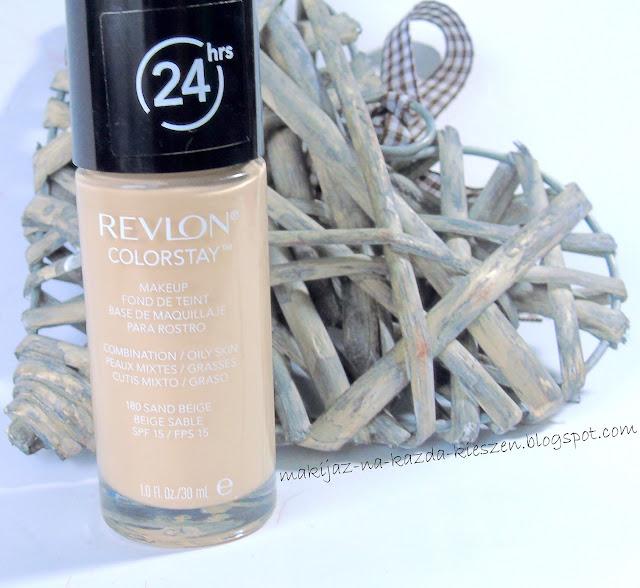 Czy zrodziła się miłość? Revlon Colorstay do cery tłustej/mieszanej - 180 Sand Beige - recenzja.
