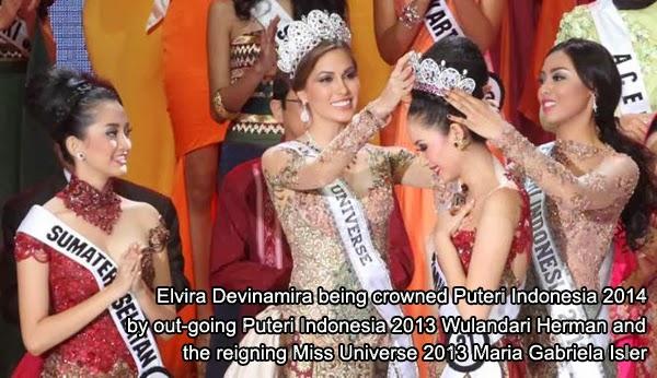 Elvira Devinamira - Puteri Indonesia 2014