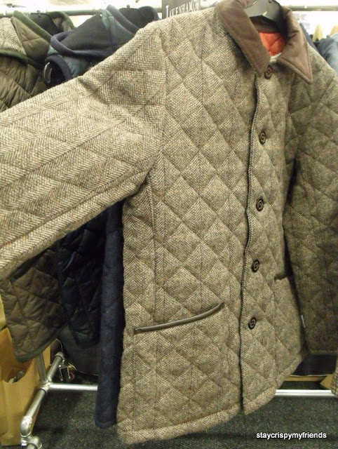 Lavenham wool quilted jacket
