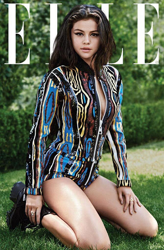 Selena Gomez ELLE Magazine US October 2015 photo shoot