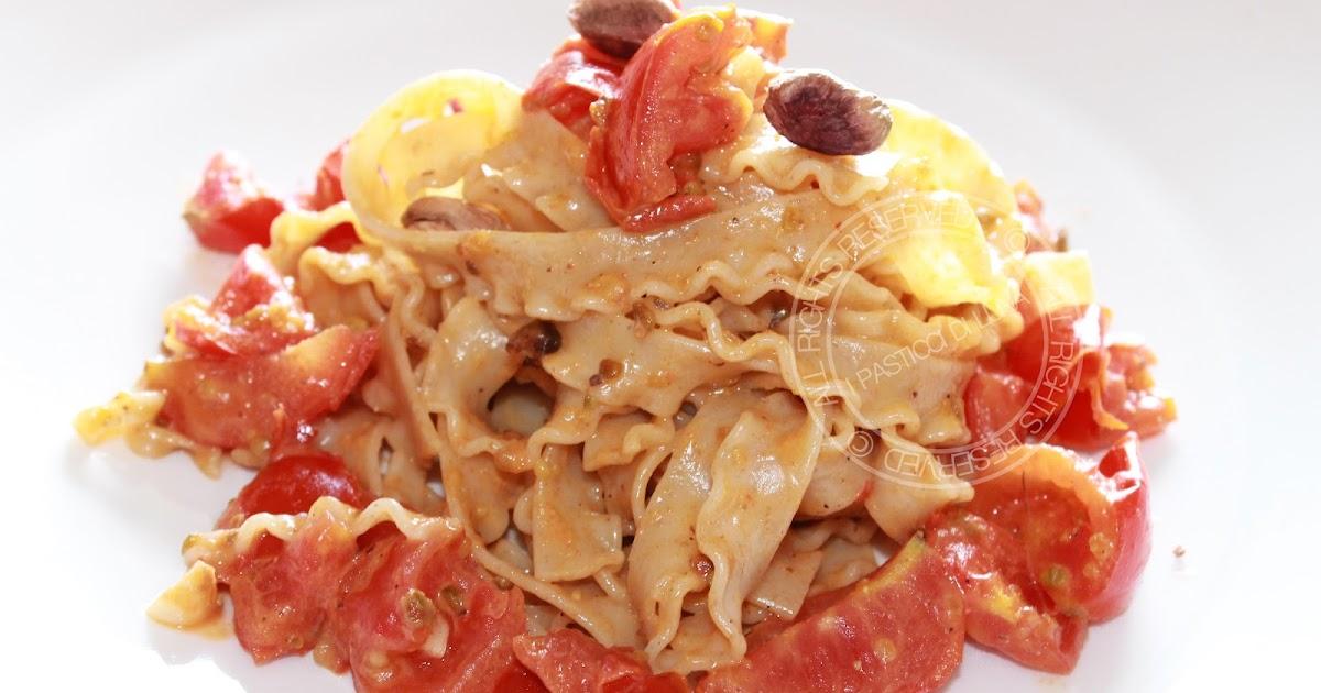 I pasticci di luna ricetta veloce pasta con pesto di for Cucinare qualcosa di veloce