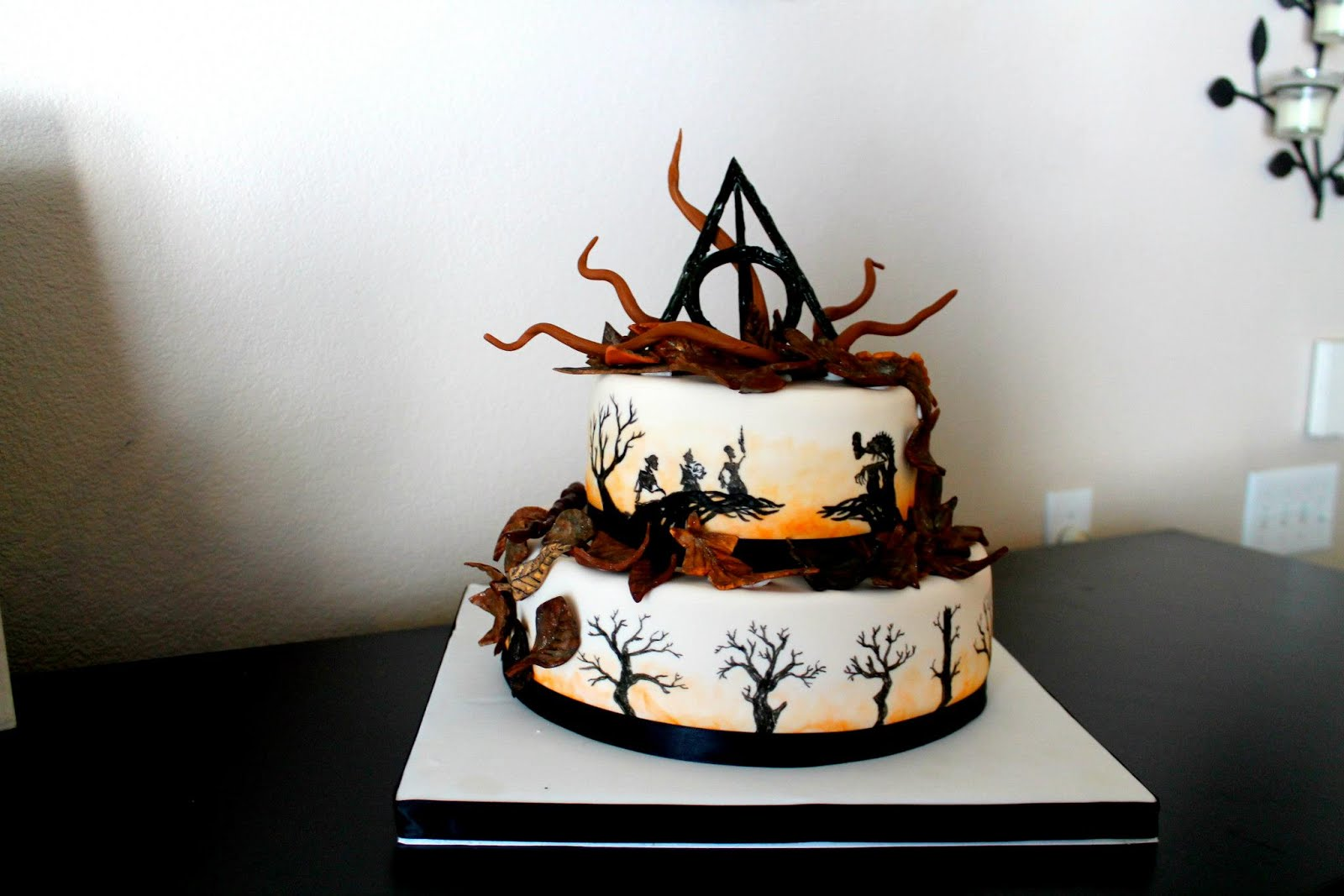 My Culinary Creations: Harry Potter Cake: Tale of the ...