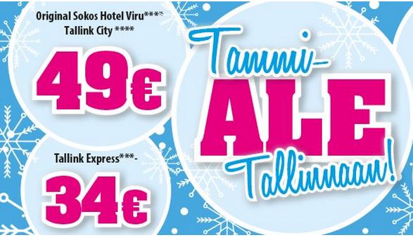 Matkapojat, Tallinna tutuksi, SuperAlko, Prisma, päiväristeily, hotellimatka
