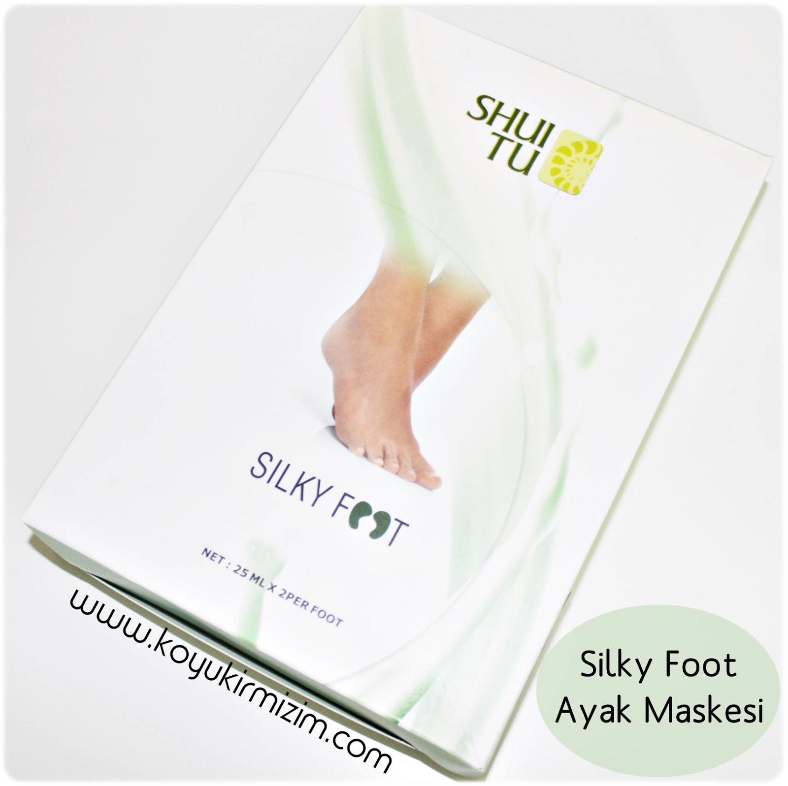 Silky Foot Ayak Maskesi