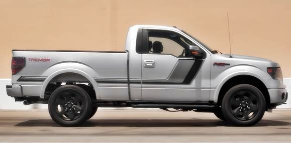 Ford F150 Fx4 Side View