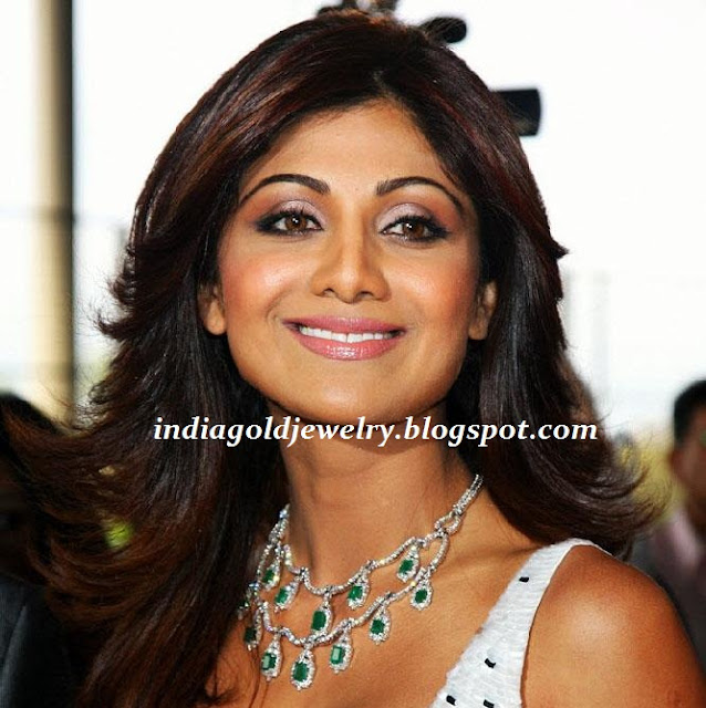 indian gold and jewellery shilpa shetty designer