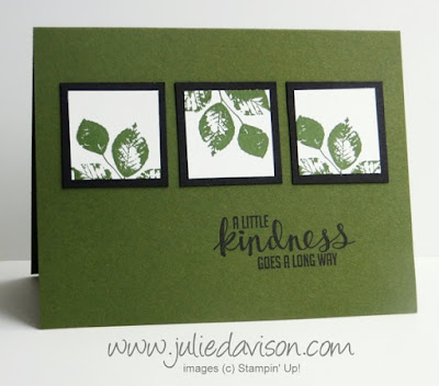 Stampin' Up! Kinda Eclectic Clean & Simple Masculine card www.juliedavison.com #stampinup
