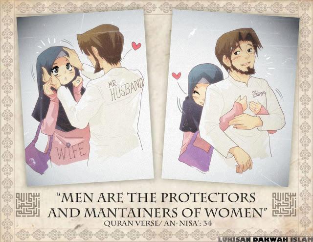 Suami isteri penyayang