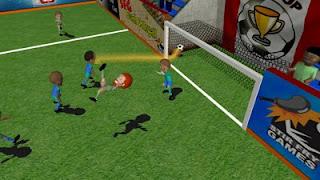 Games SFG Soccer ( sepak bola kartun mini )