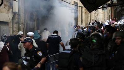 Palestinos provocam distúrbios no Monte do Templo