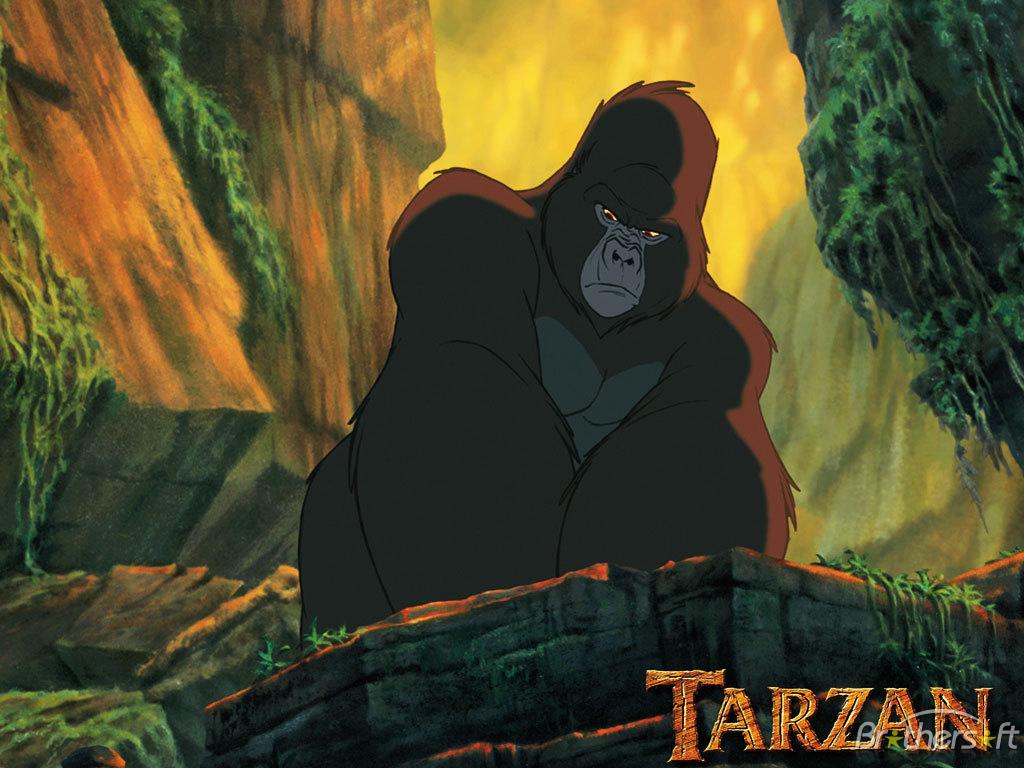 Culture diversity childrens movie critique - Tarzan gorille ...