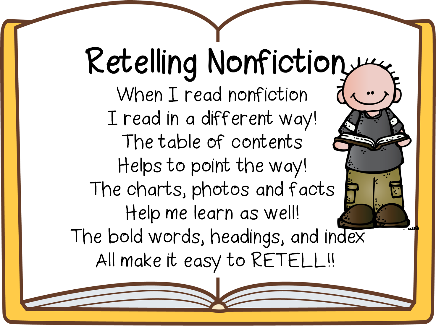 First Grade Wow: Retelling Fiction and Nonfiction
