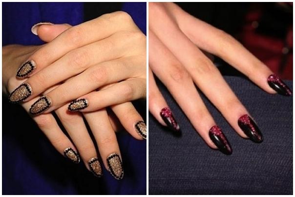 Hairstyle And Fashion Dark Nail Art Designs