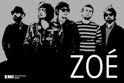 letras de la banda zoe:
