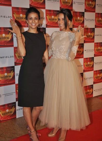 Yami, Amrita Rao, Neha Dhupia, Elli Avram, Gul Panagand others at 10th Gemfields & Nazraana Retail Jeweller India Awards 2014