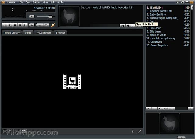 تحميل برنامج وين امب Winamp 2016 للكمبيوتر مجانا
