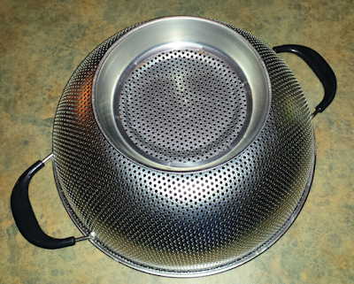 Kukpo Colander - inverted