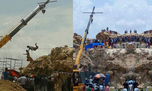 Bahubali's shooting starts in Kurnool natural locations