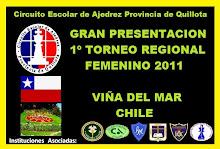 TORNEO REGIONAL FEMENINO 2011 VIÑA DEL MAR CHILE