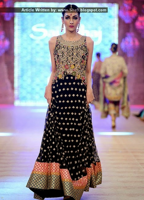 Karma Latest Bridal Attires at PFDC L`Oreal Paris Bridal Week 2014-15