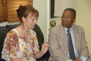 Académica alemana visita UASD