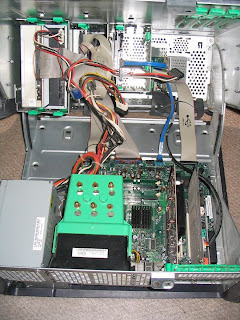 Under the hood: DELL Dimension 8400