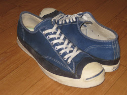 "70's JACK PURCELL ""NAVY BLUE"""