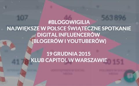 Blogowigilia 2015, Teatr Capitol, Warszawa