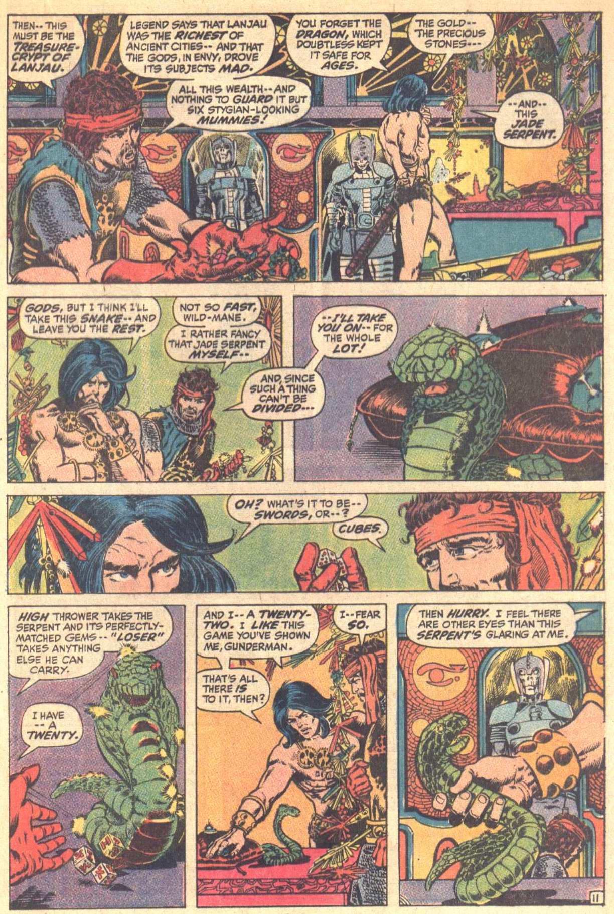 Conan the Barbarian (1970) Issue #8 #20 - English 12