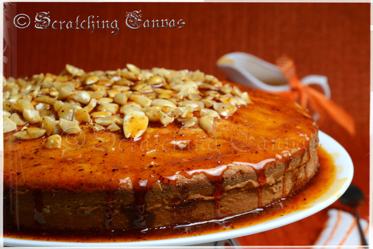 Recipe | Flour Less and Butter Less Orange Almond Cake with Orange ...