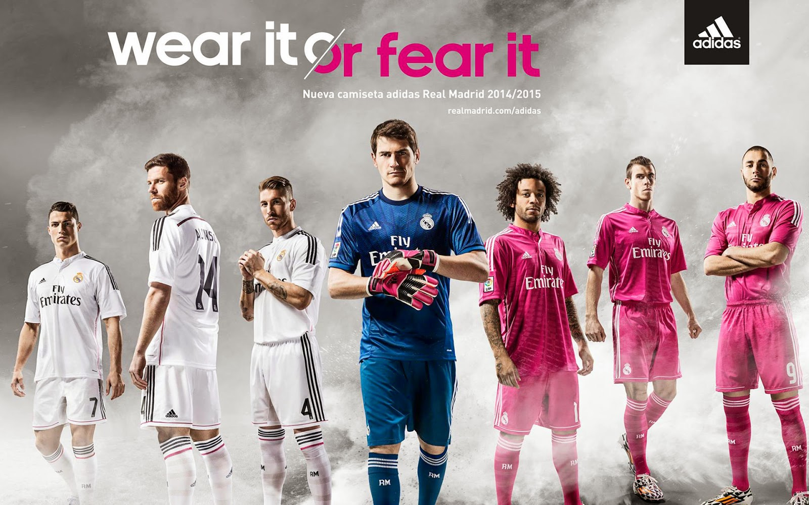 207623a96 Pro Soccer  adidas New Real Madrid Home and Away Kits