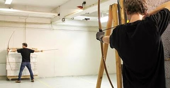 Everything you know about archery is a lie—and this dude can prove it
